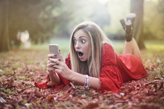 Ottenere un testo sorprendente Foto Premium