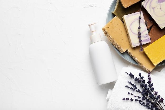 Pacchetto balsamo di benvenuto all'igiene della spa Foto Gratuite