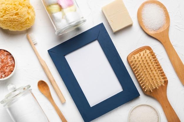 Pacchetto di benvenuto per cosmetici hygiene spa Foto Gratuite