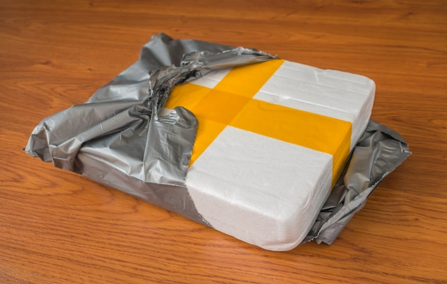 Packaging scatola della gomma piuma. Foto Gratuite