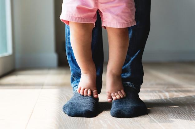Padre e figlio Foto Premium