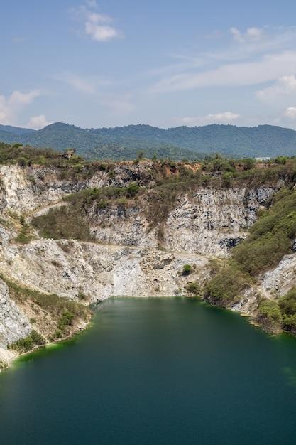 Paesaggio del grand canyon in tailandia. Foto Premium