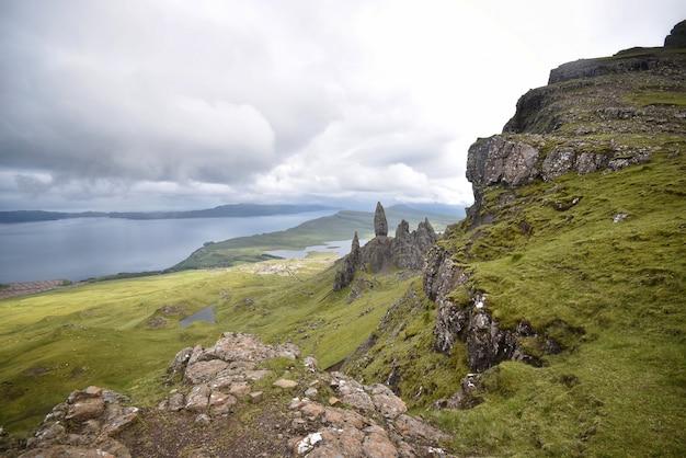 Paesaggio naturale delle montagne Foto Gratuite
