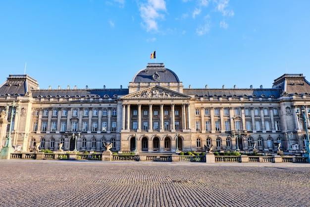 Palazzo reale di bruxelles in belgio Foto Premium