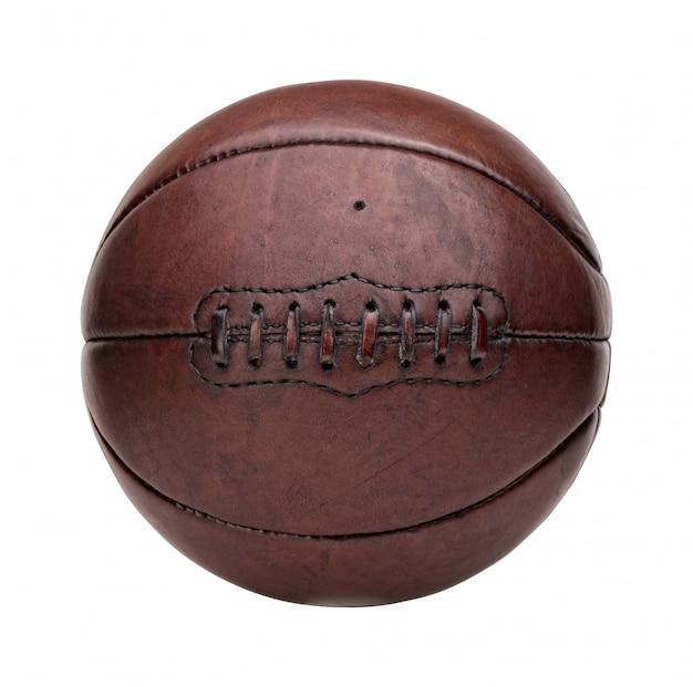 Palla da basket vintage Foto Premium