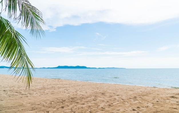 Palm e spiaggia tropicale a pattaya in thailandia Foto Gratuite