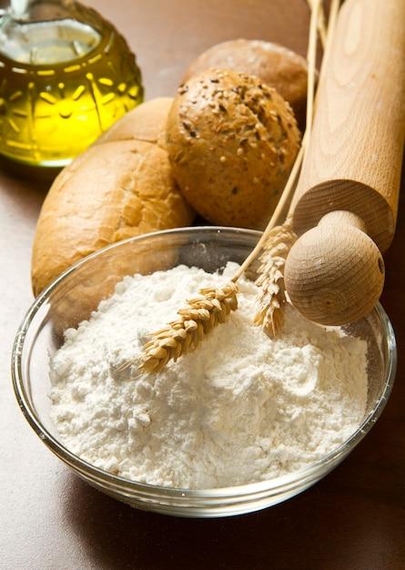 Pane fatto in casa Foto Premium