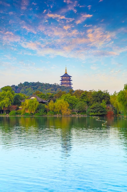 Panorama scenario torre pagoda architettura Foto Gratuite