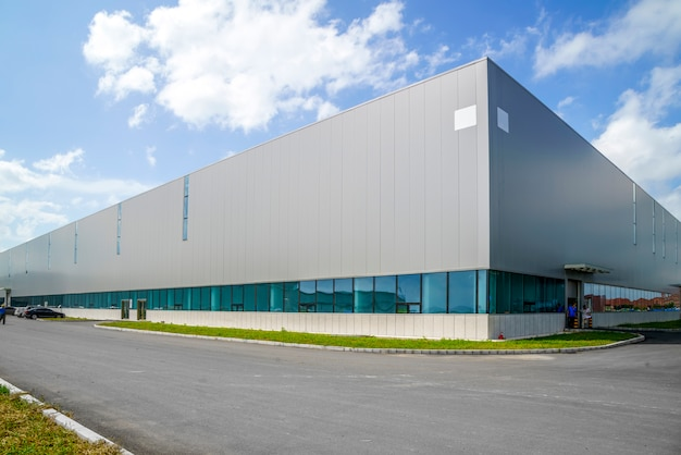 Parco industriale, fabbrica, magazzino Foto Gratuite