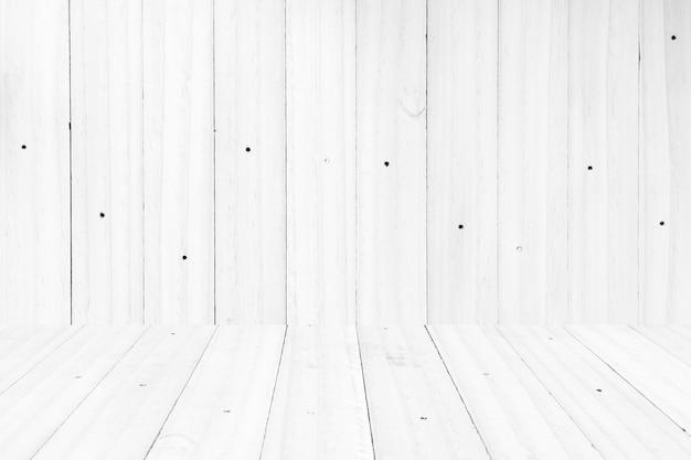 Parete di legno vuota del pavimento di struttura della plancia. Foto Premium