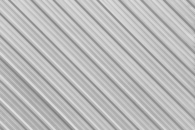 Parete in alluminio argento superficiale della fabbrica. Foto Premium