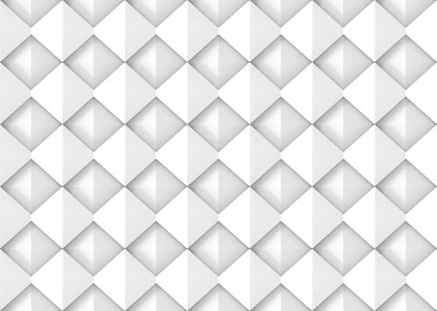 Parete quadrata diagonale moderna senza cuciture delle mattonelle di ceramica del modello di griglia Foto Premium