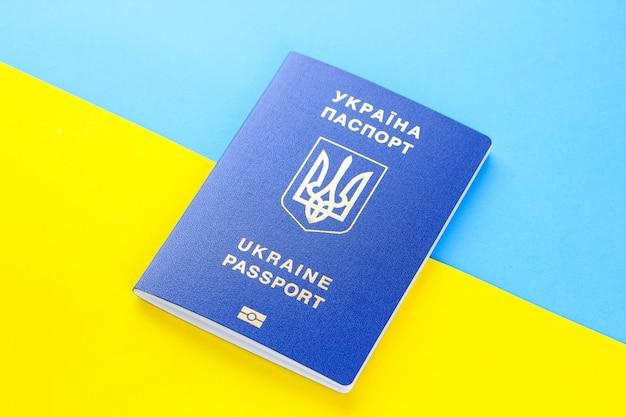 Passaporto biometrico ucraino Foto Premium
