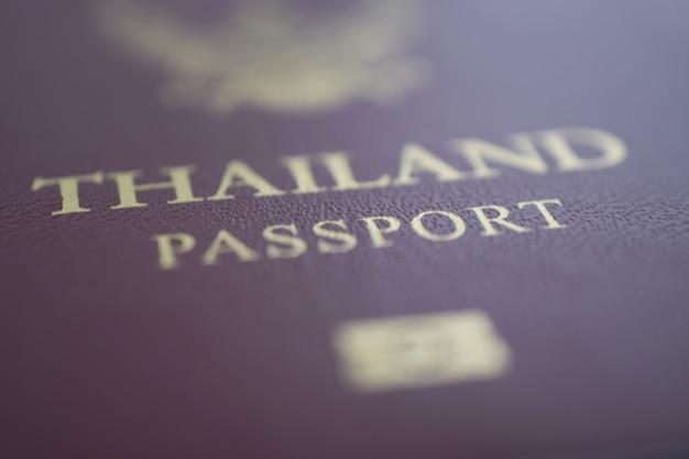 Passaporto della tailandia Foto Premium