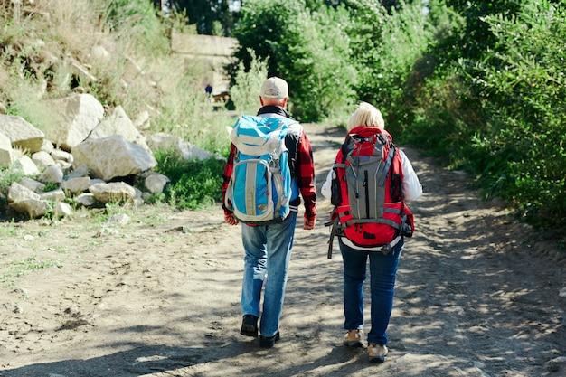 Passeggiata di turisti Foto Gratuite