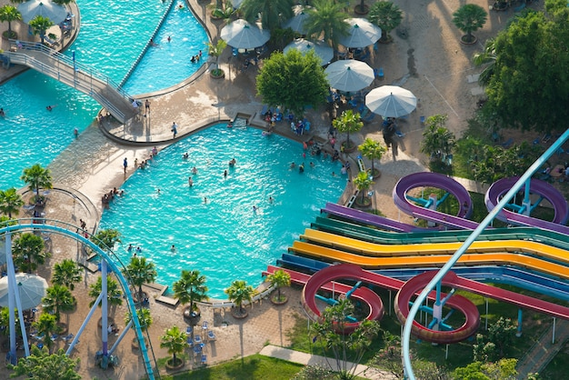 Pattaya parco principali attrazioni turistiche della città Foto Premium
