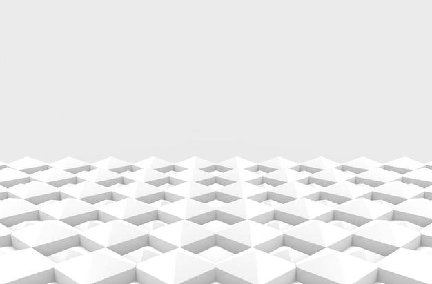 Pavimento di progettazione di piastrelle di ceramica del modello quadrato moderno diagonale quadrata Foto Premium