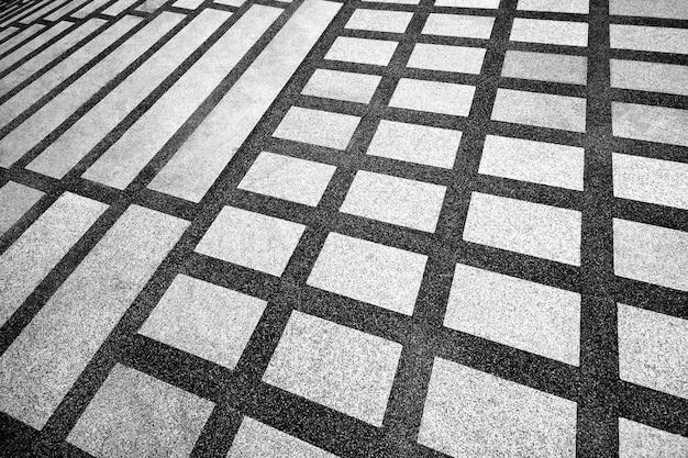 Pavimento modellato del corridoio per lo sfondo. Foto Premium