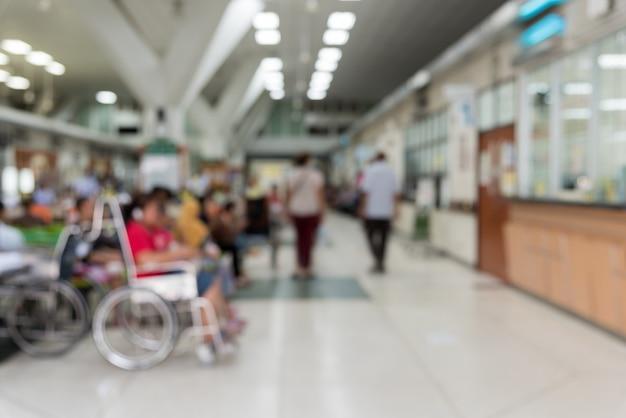 Pazienti in attesa di un medico Foto Premium