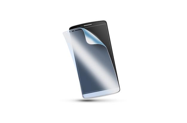Pellicola protettiva per telefono sullo schermo Foto Premium