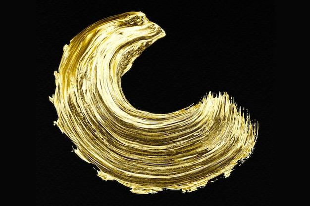 Pennellata d'oro Foto Gratuite