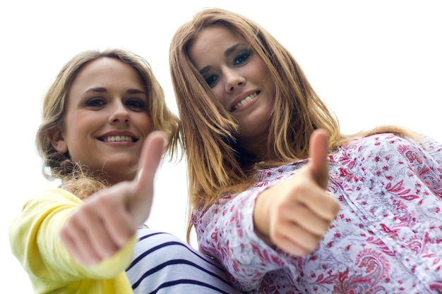 Personas parque chicas mujer pareja Foto Gratuite