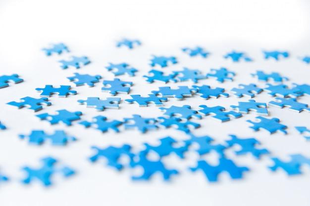 Pezzo di puzzle di collegamento Foto Premium