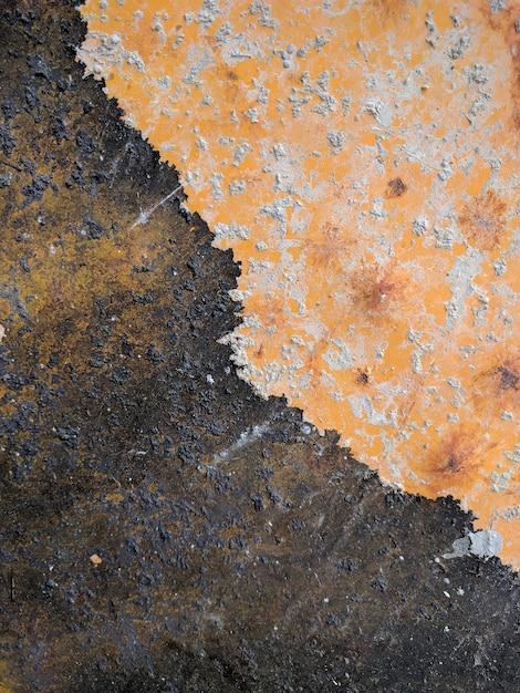 Piastra di ferro arrugginito Foto Premium