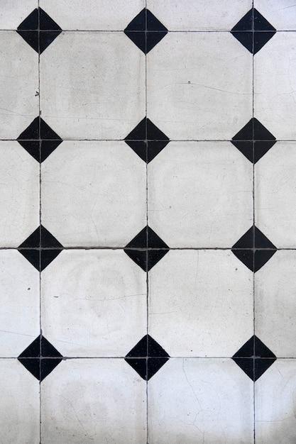 Piastrelle a mosaico con motivi geometrici Foto Premium