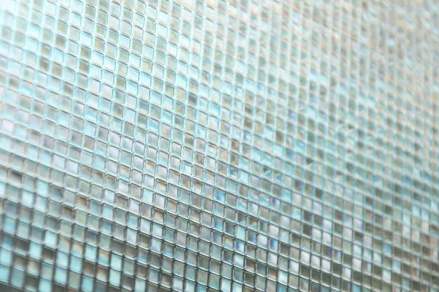 Piastrelle di vetro blu senza saldatura texture di sfondo