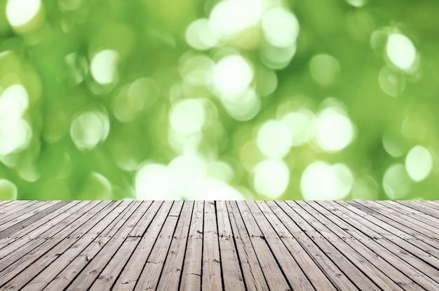 Piattaforma di modello, sfondo naturale Foto Premium