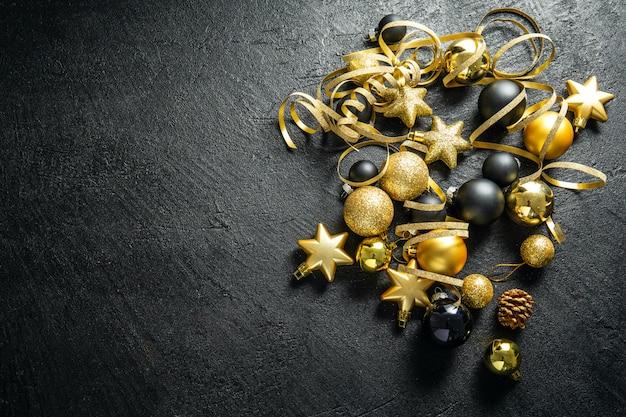 Piatto minimalista natalizio Foto Premium