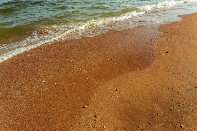 Piccole onde del mare Foto Premium