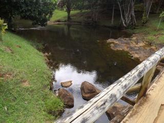 Pietre di fiume e ponte di legno scaricare foto gratis for Pietre di fiume