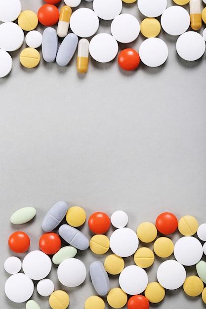 Pillole colorate Foto Gratuite
