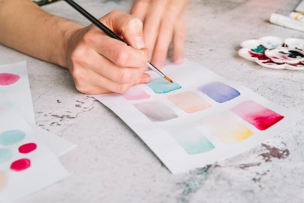 Pittura a mano Foto Gratuite