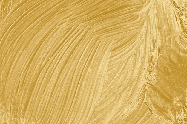 Pittura ad olio strutturata dorata Foto Gratuite