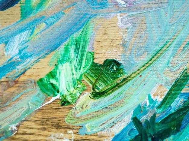 Pittura astratta con colori acrilici Foto Gratuite
