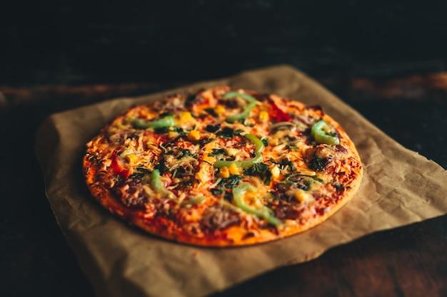 Pizza italiana Foto Premium