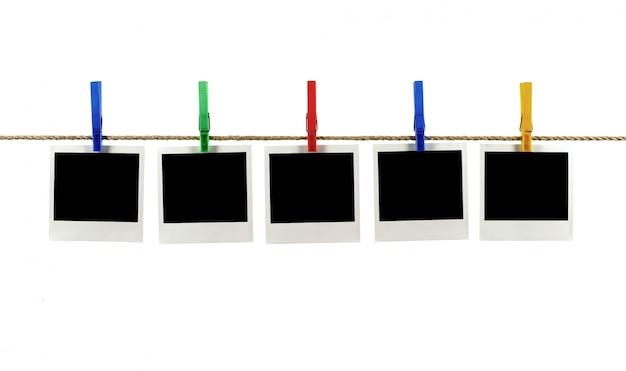 Polaroid foto di stile di una collana Foto Gratuite