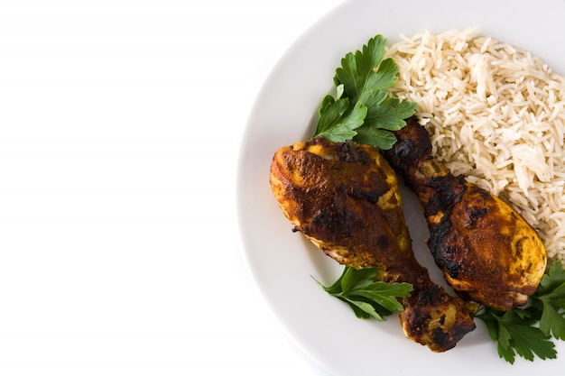 Pollo tandoori arrosto Foto Premium