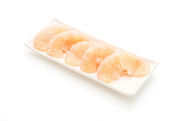 Pomelo fresco isolato Foto Premium