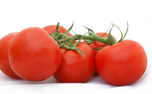 Pomodori maturi sulla vite Foto Gratuite