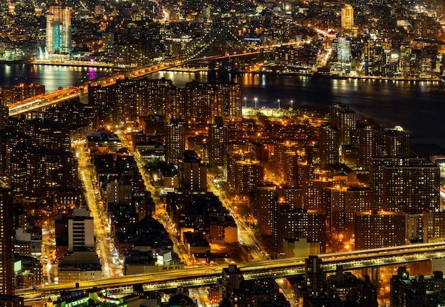 Ponte aereo manhattan new york Foto Premium