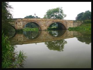 Ponte nei pressi kirkham abbey Foto Gratuite