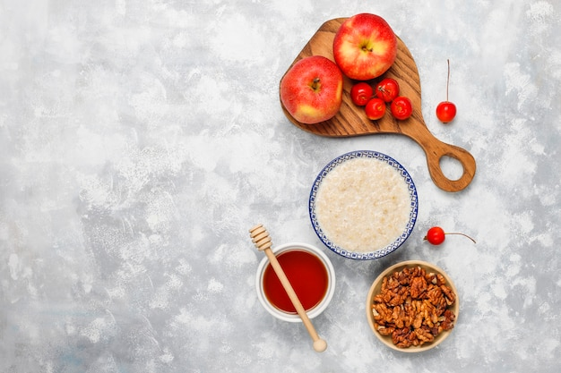 dieta di mele e farina davena