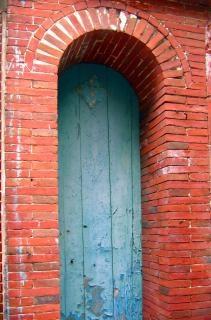 Porta ad arco in mattoni scaricare foto gratis - Porta ad arco ...