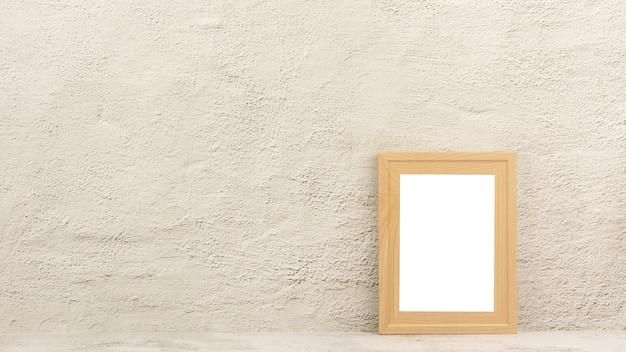 Portafoto in legno classico nella stanza Foto Premium