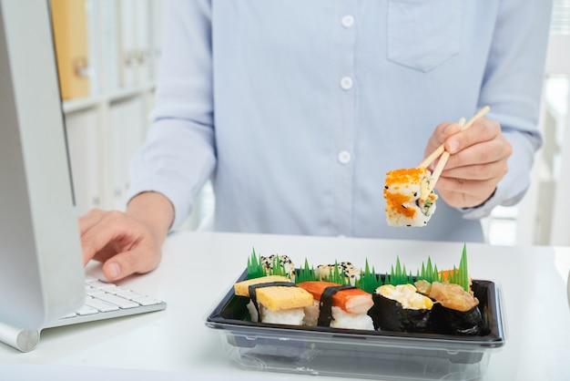 Pranzo di lavoro Foto Gratuite