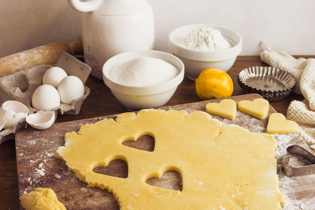 Preparazione della pasta torta Foto Gratuite